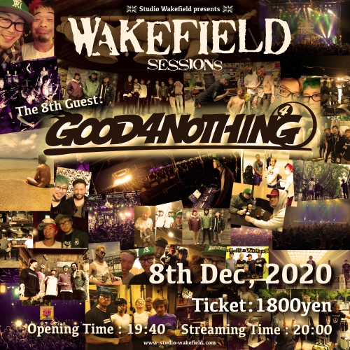 「WAKEFiELD SESSIONS」出演決定